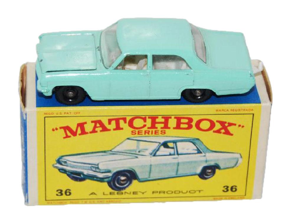 Matchbox Opel Diplomat 36c verde