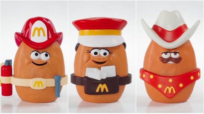 McNugget Buddies: Fireman McNugget, Mail Carrier McNugget, Cowboy McNugget (1988)