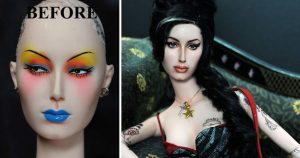 Muñeca de Amy Winehouse