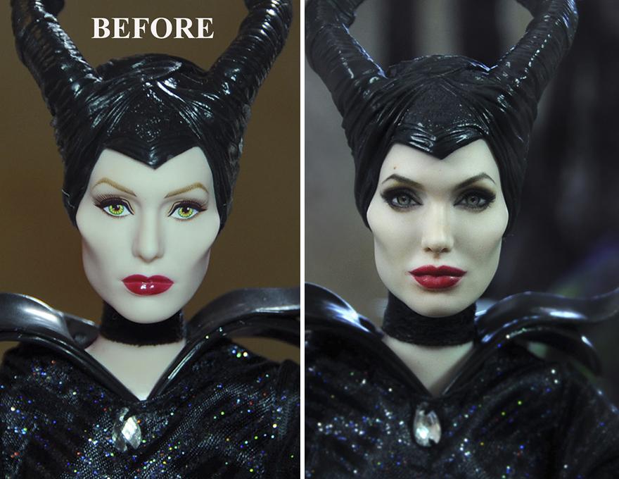 Muñeca de Maleficent Angelina Jolie