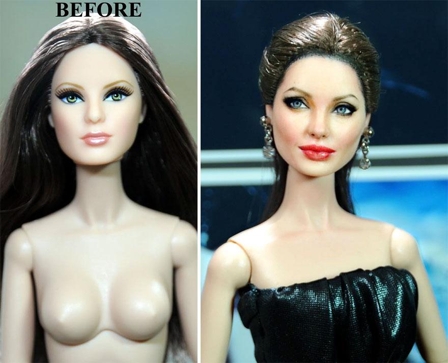 Muñeca de Angelina Jolie