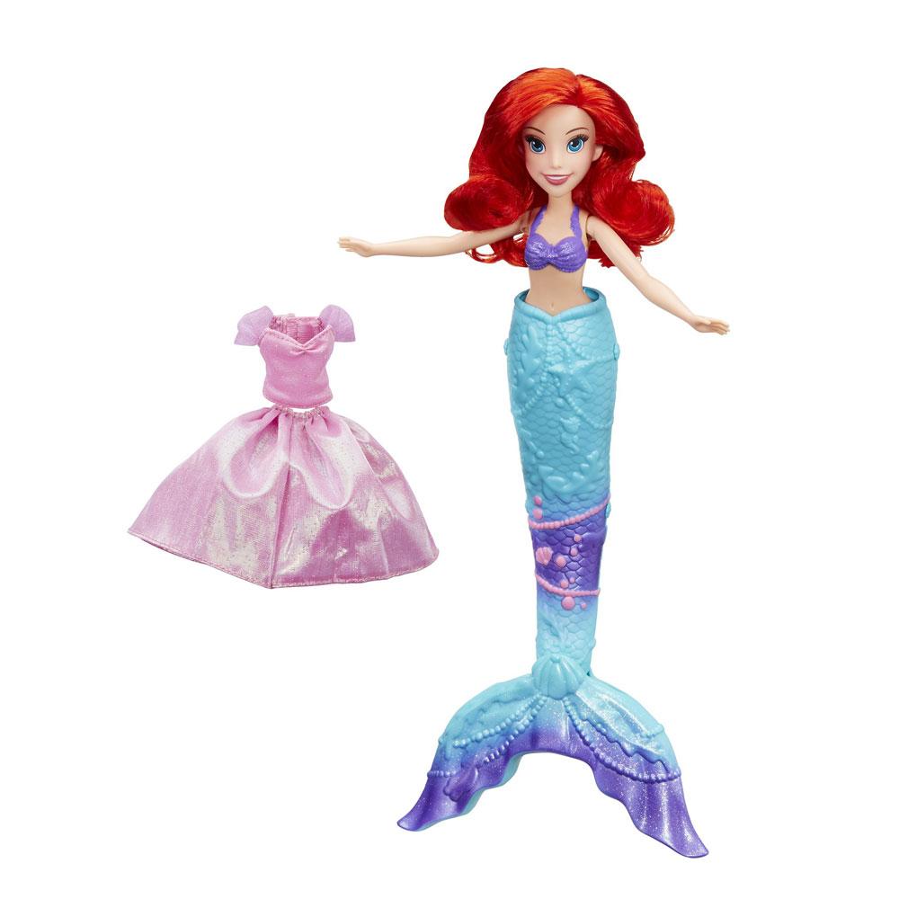 Muñeca Ariel La Sirenita Sorpresa en el Agua