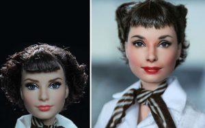 Muñeca de Audrey Hepburn