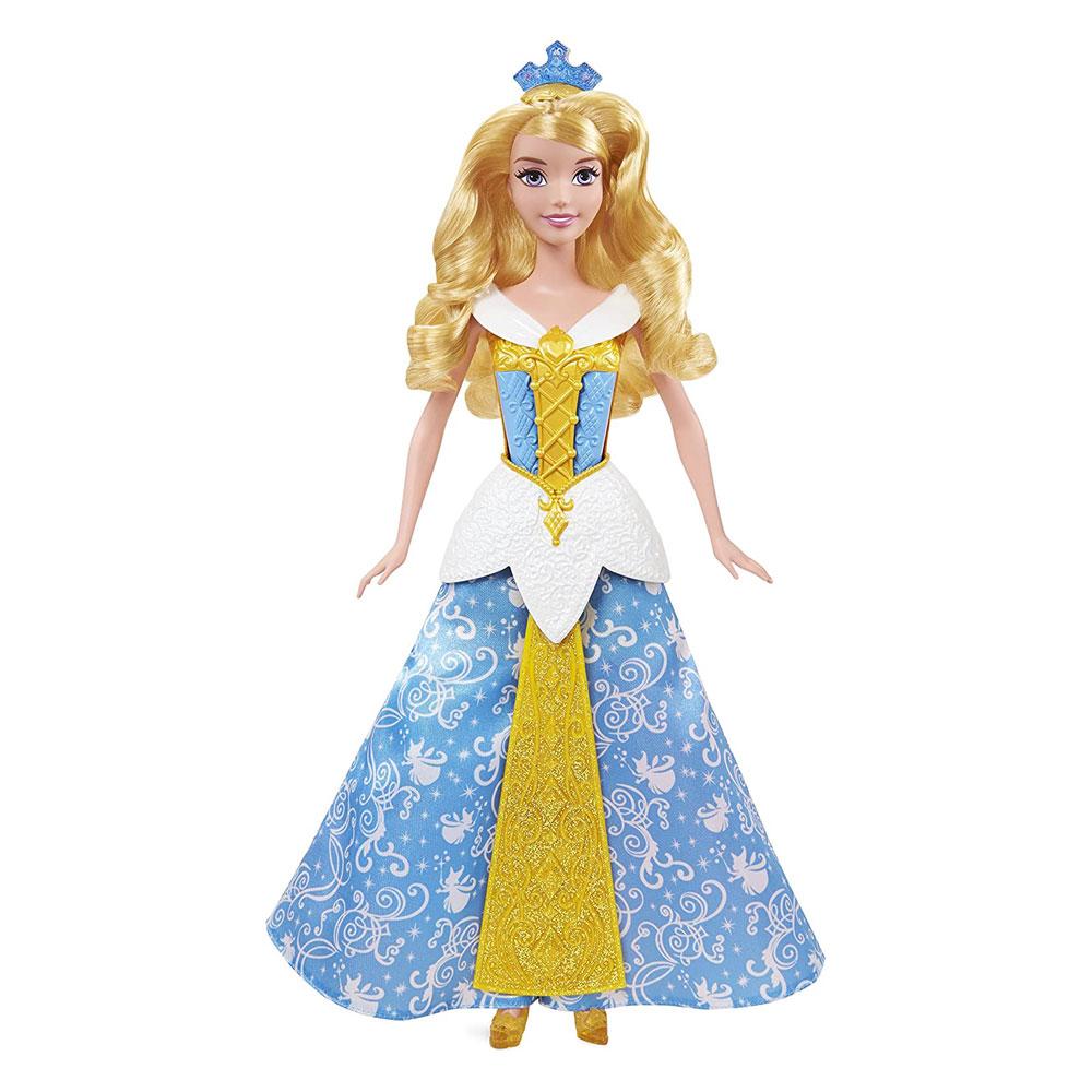 Muñeca de Aurora Vestido Mágico - La Bella Durmiente