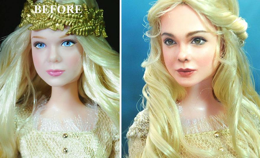 Muñeca de Aurora Maleficent