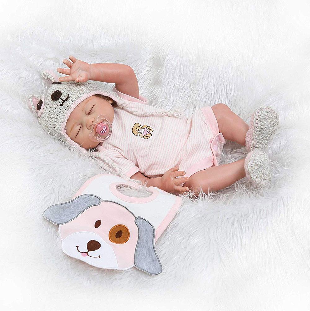 Muñeca bebé reborn realista