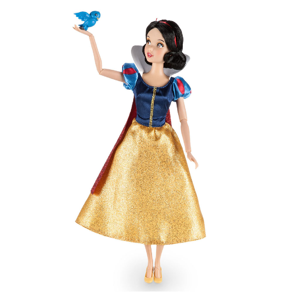 Muñeca de Blancanieves Clásica con Bluebird