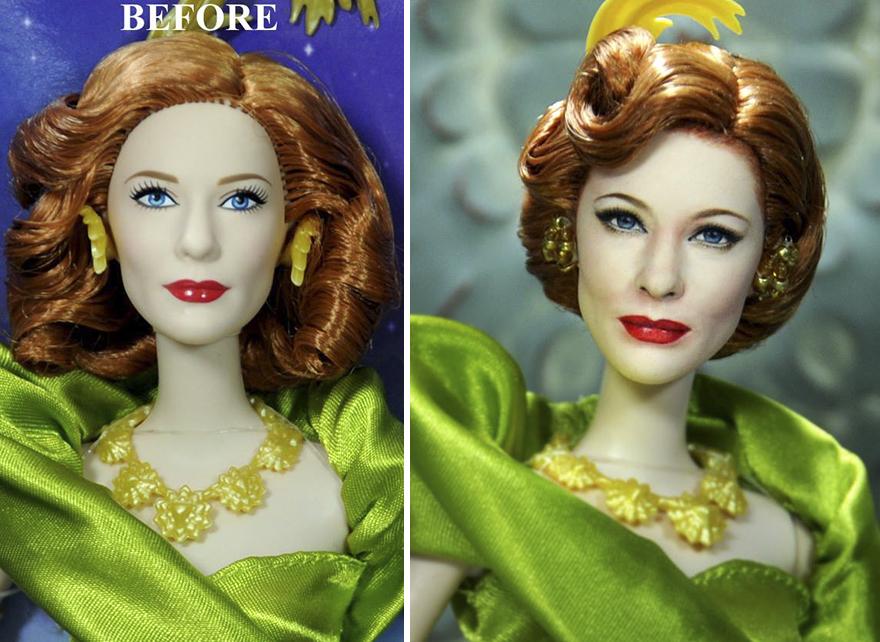 Muñeca de Madrastra Malvada Cate Blanchett Cenicienta