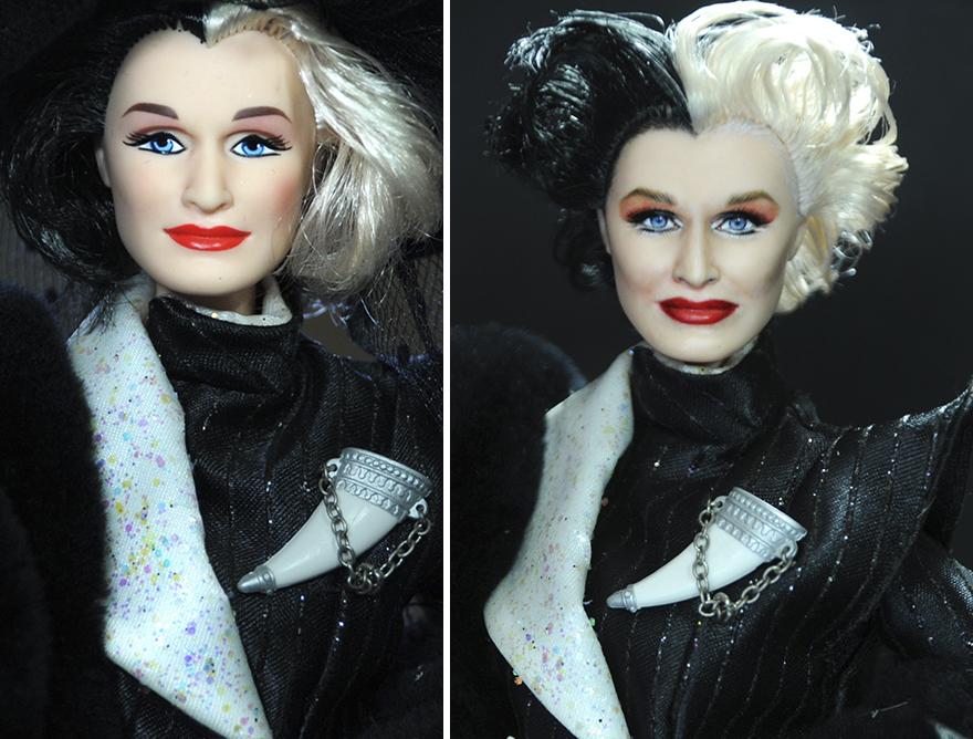 Muñeca de Cruella Deville 101 Dalmatas