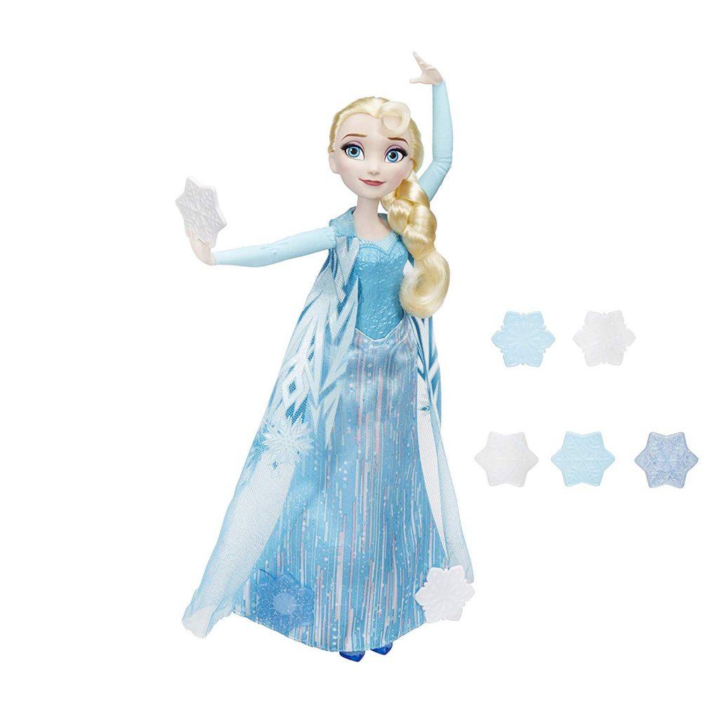 Muñeca Elsa de Frozen Copos Mágicos