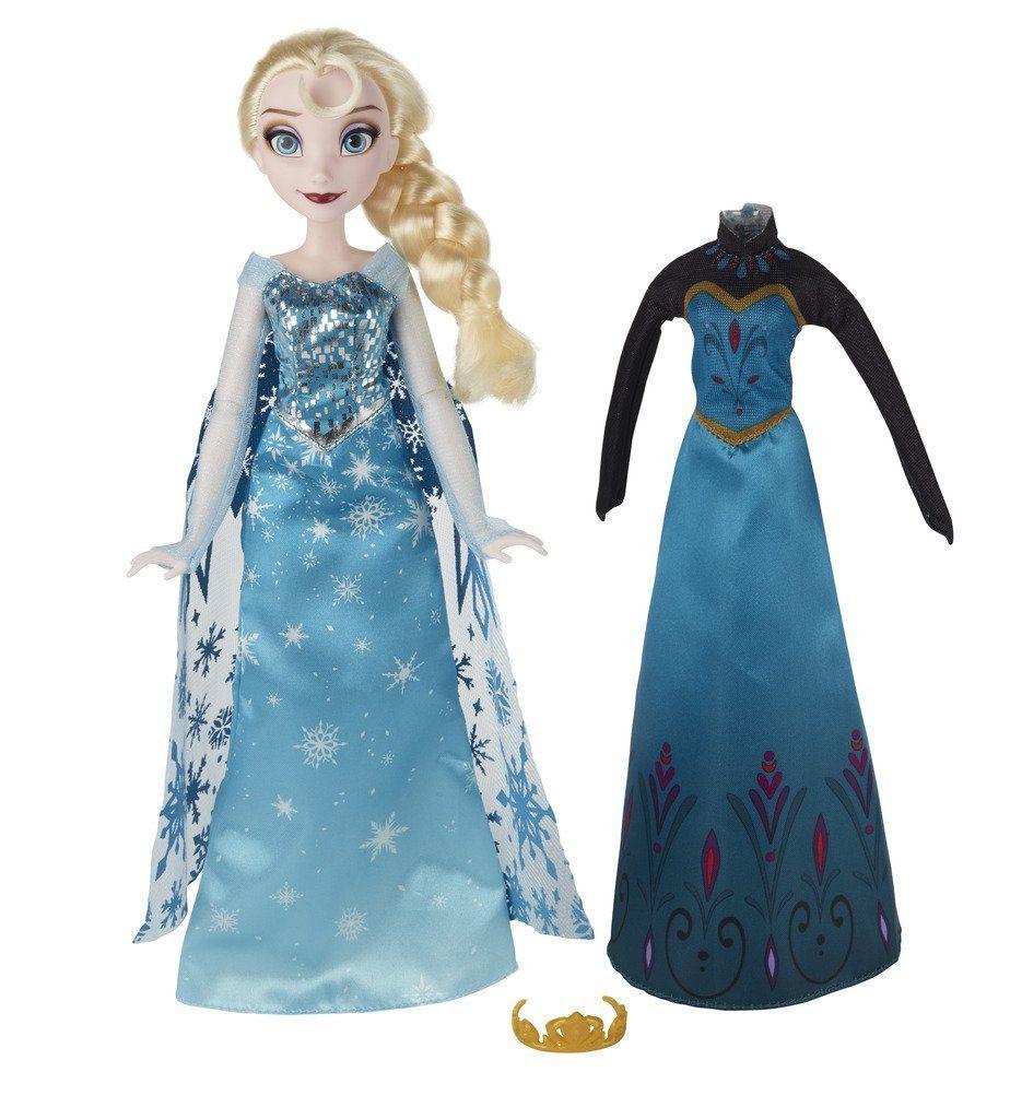 Muñeca de Elsa Coronation Change