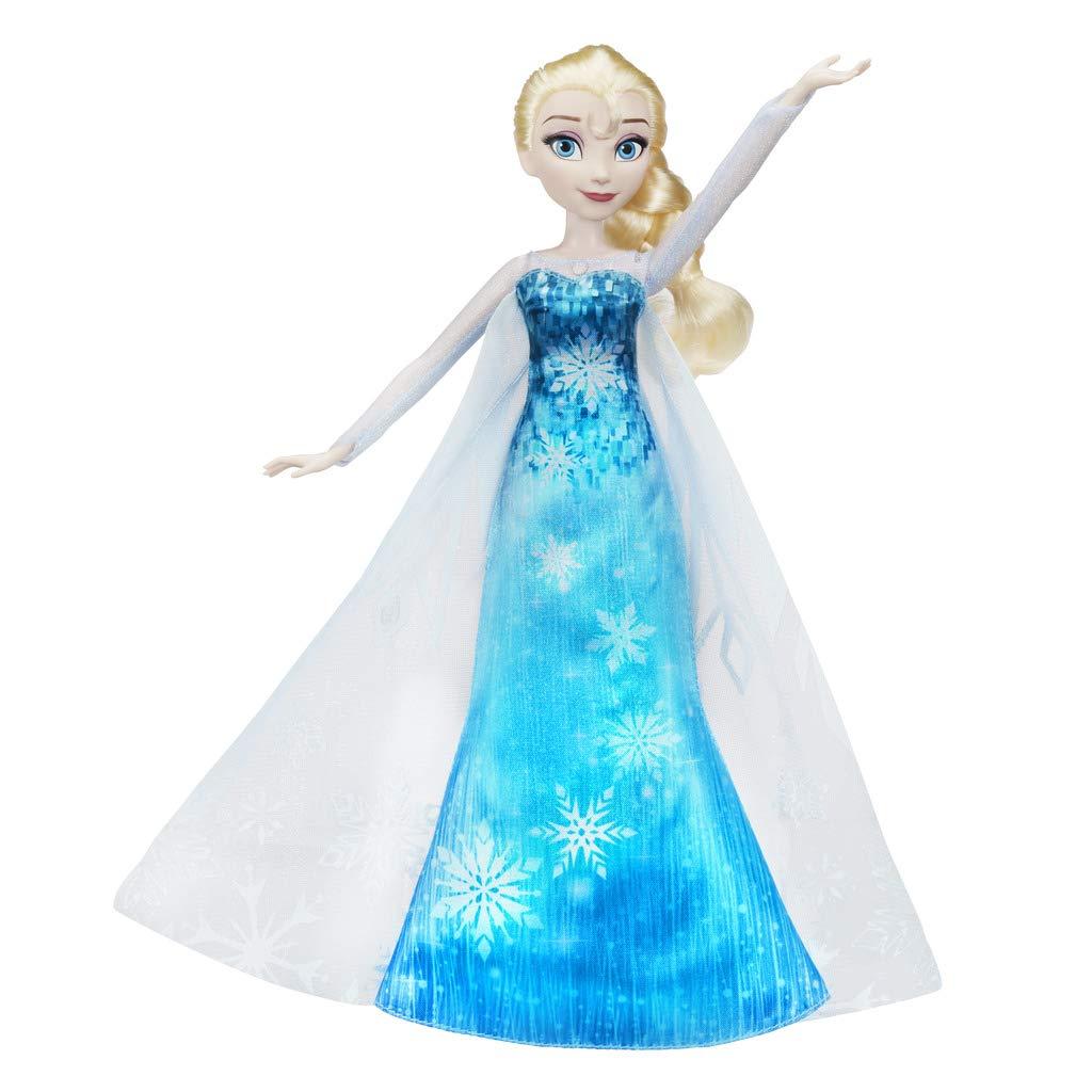 Muñeca de Elsa Frozen vestido musical