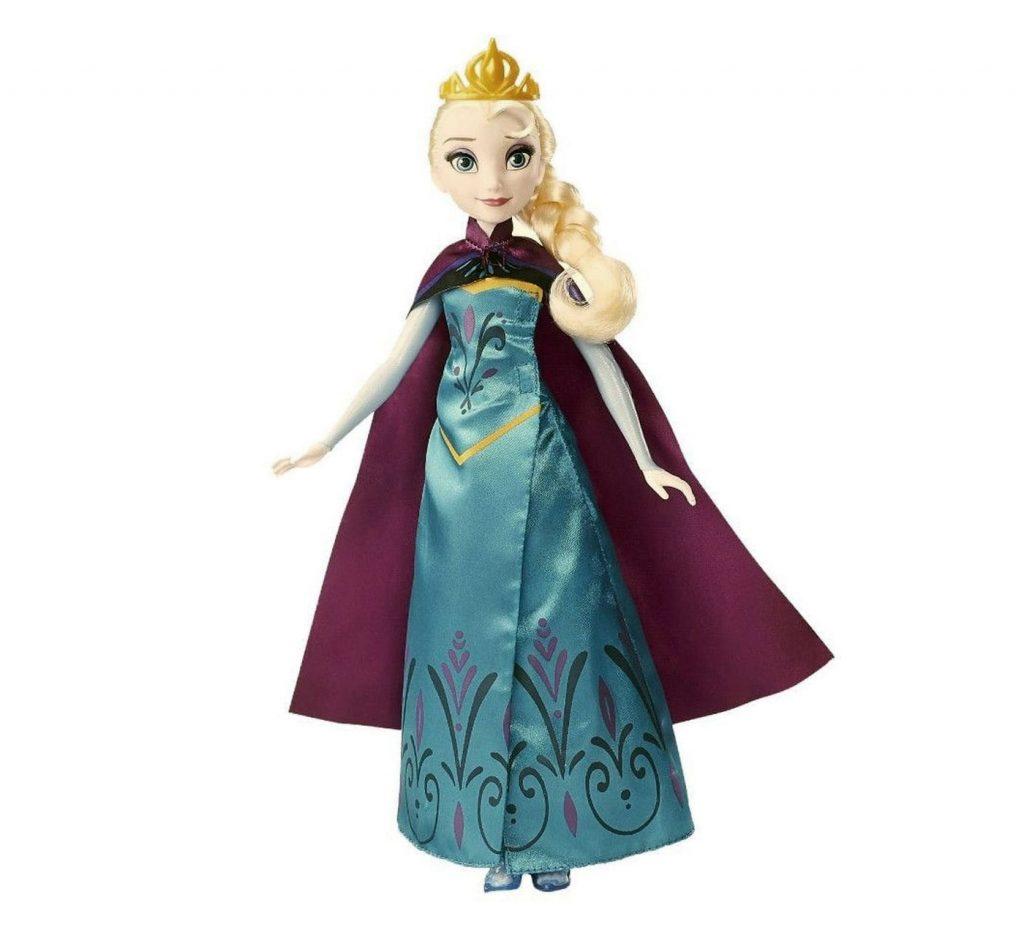 Muñeca de Elsa Frozen Revelación Real