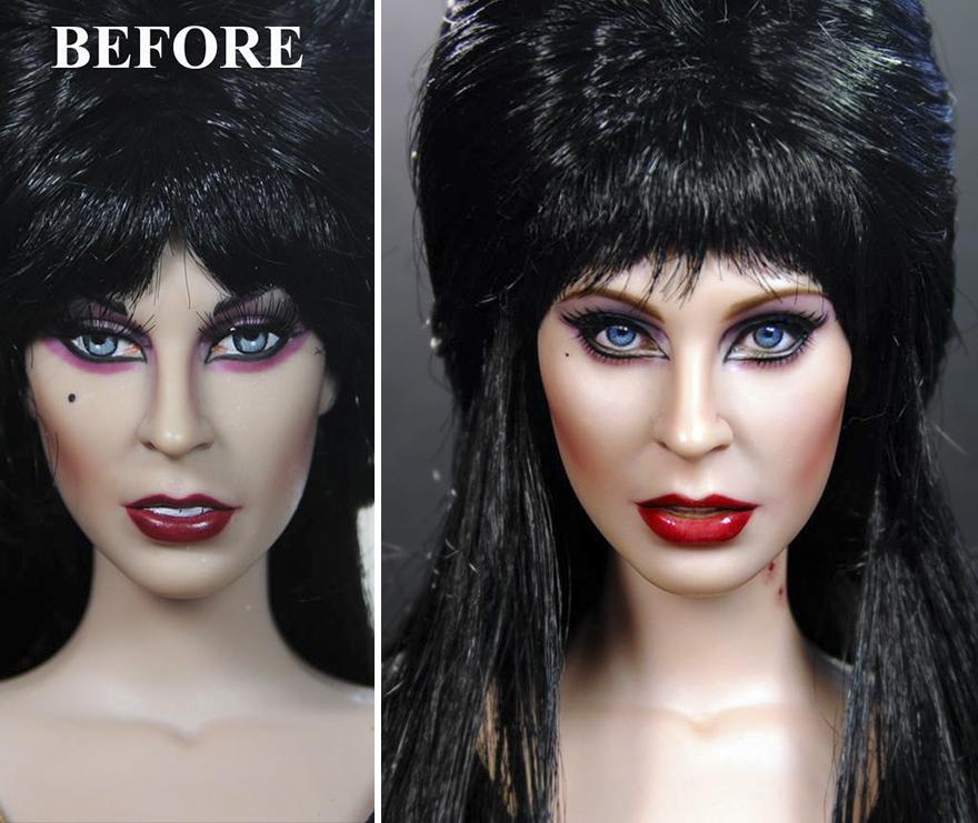 Muñeca de Elvira Cassandra Peterson