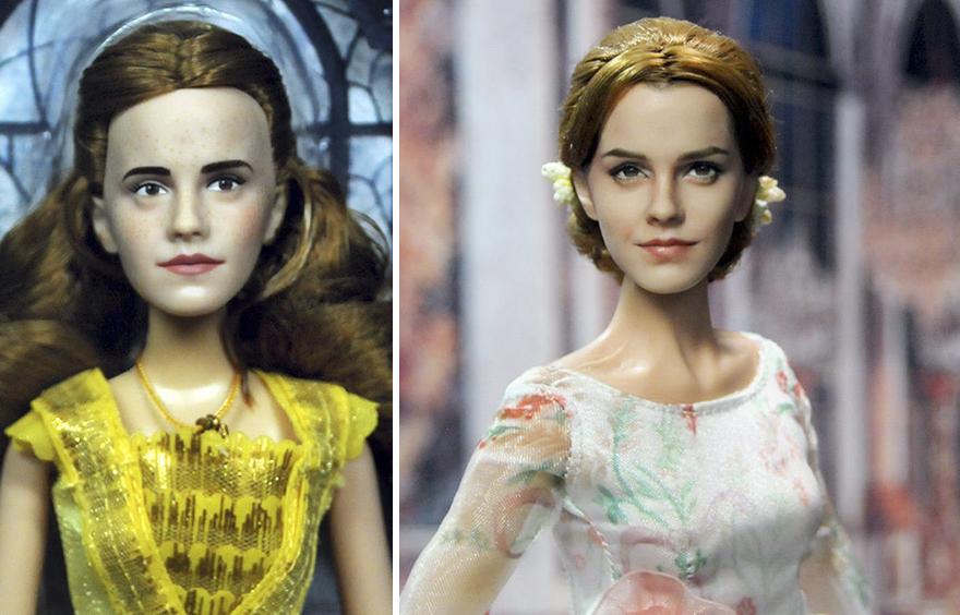 Muñeca de Bella de La Bella y la Bestia