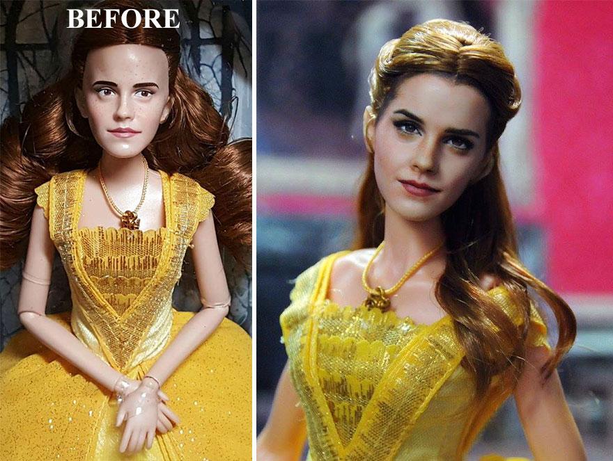 Muñeca de Emma Watson La Bella y la Bestia