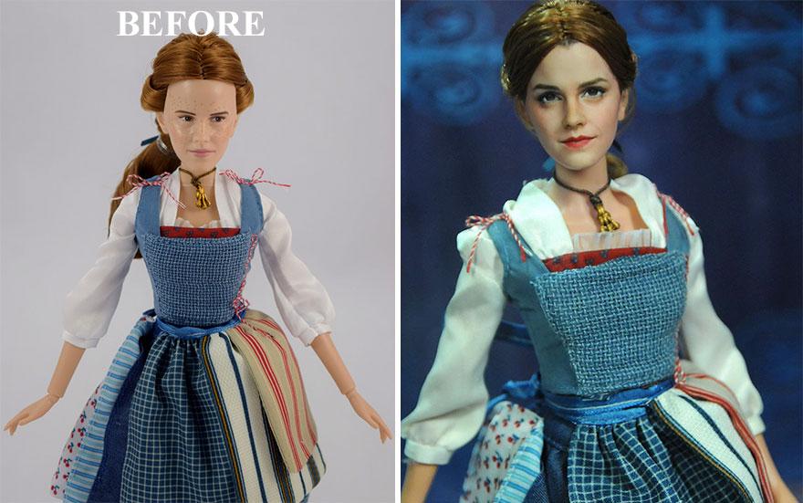 Muñeca de Bella de La Bella y la Bestia Emma Watson