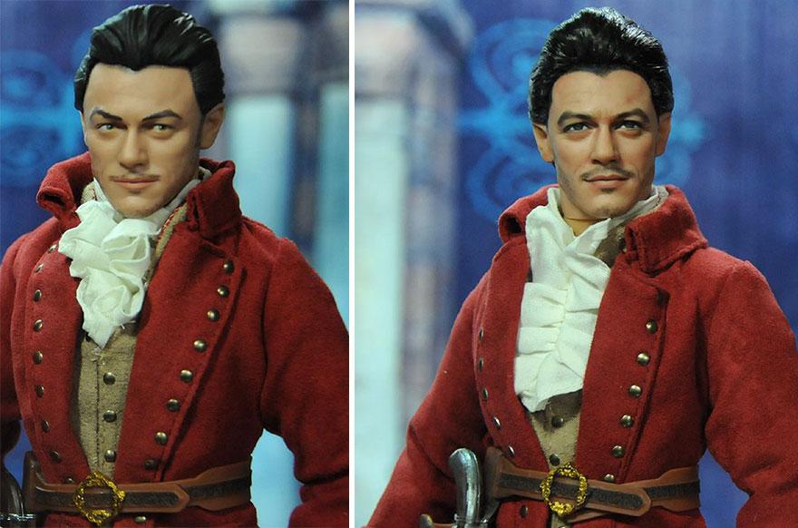 Muñeca de Gastón La Bella y la Bestia Luke Evans