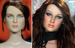 Muñeca de Jennifer Lawrence