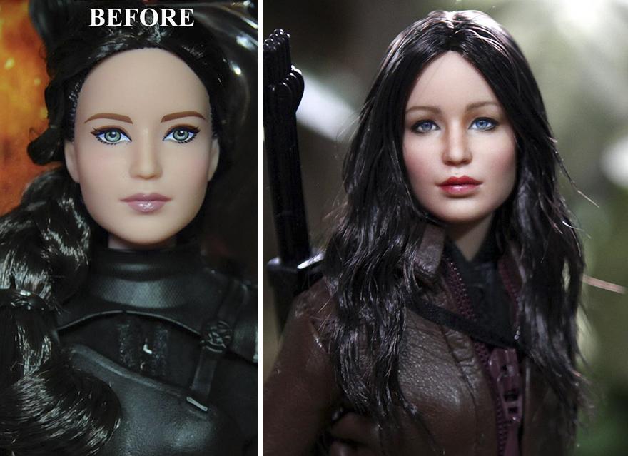Muñeca de Katniss Everdeen Los Juegos del Hambre