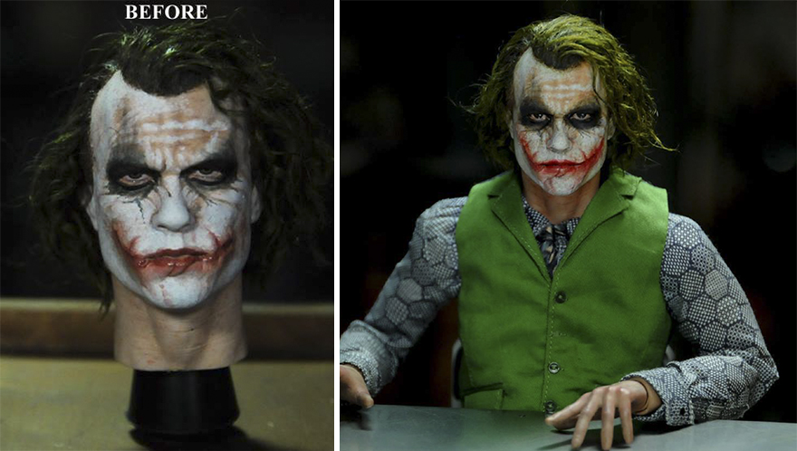 Muñeca de Joker Heath Ledger Dark Knight