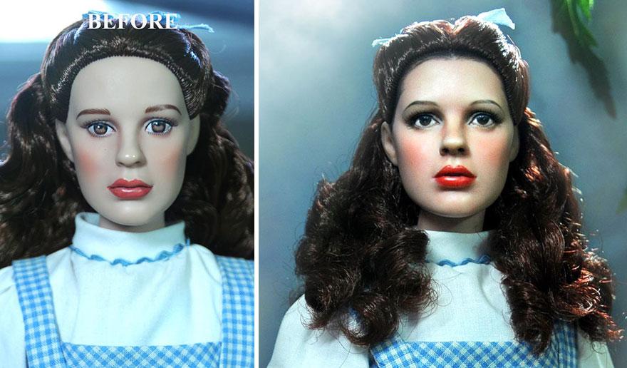 Muñeca de Dorothy El Mago de Oz Judy Garland