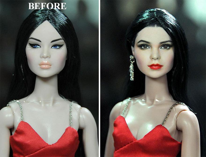 Muñeca de Kendall Jenner