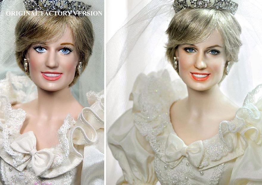 Muñeca de Lady Di Princesa Diana