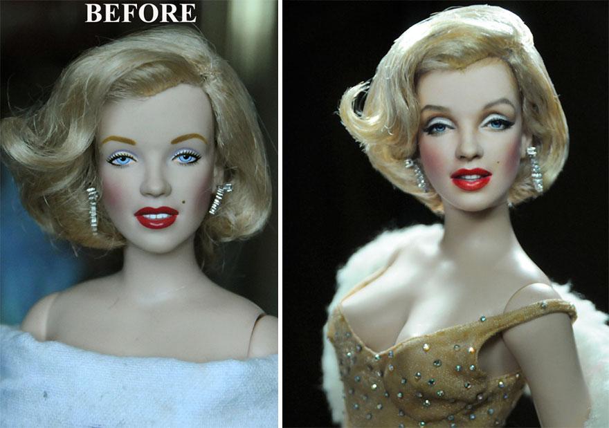 Muñeca de Marilyn Monroe