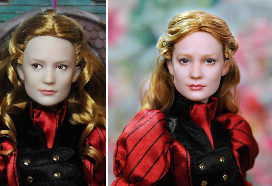 Muñeca de Alicia en el País de las Maravillas Mia Wasikowska