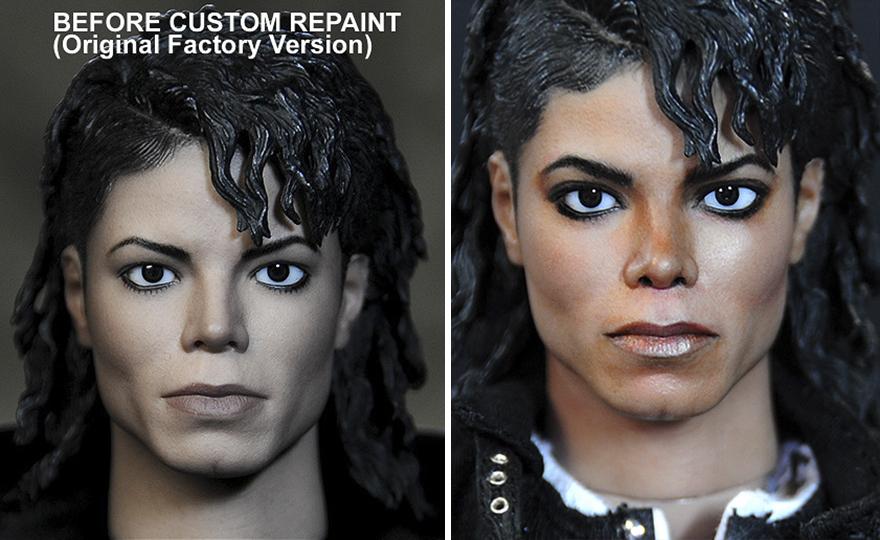 Muñeca de Michael Jackson