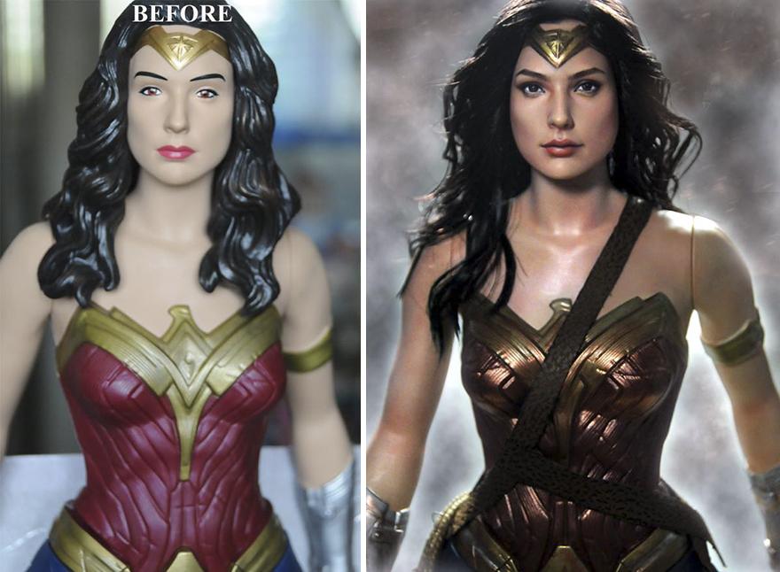 Muñeca de Wonder Woman la Mujer Maravilla
