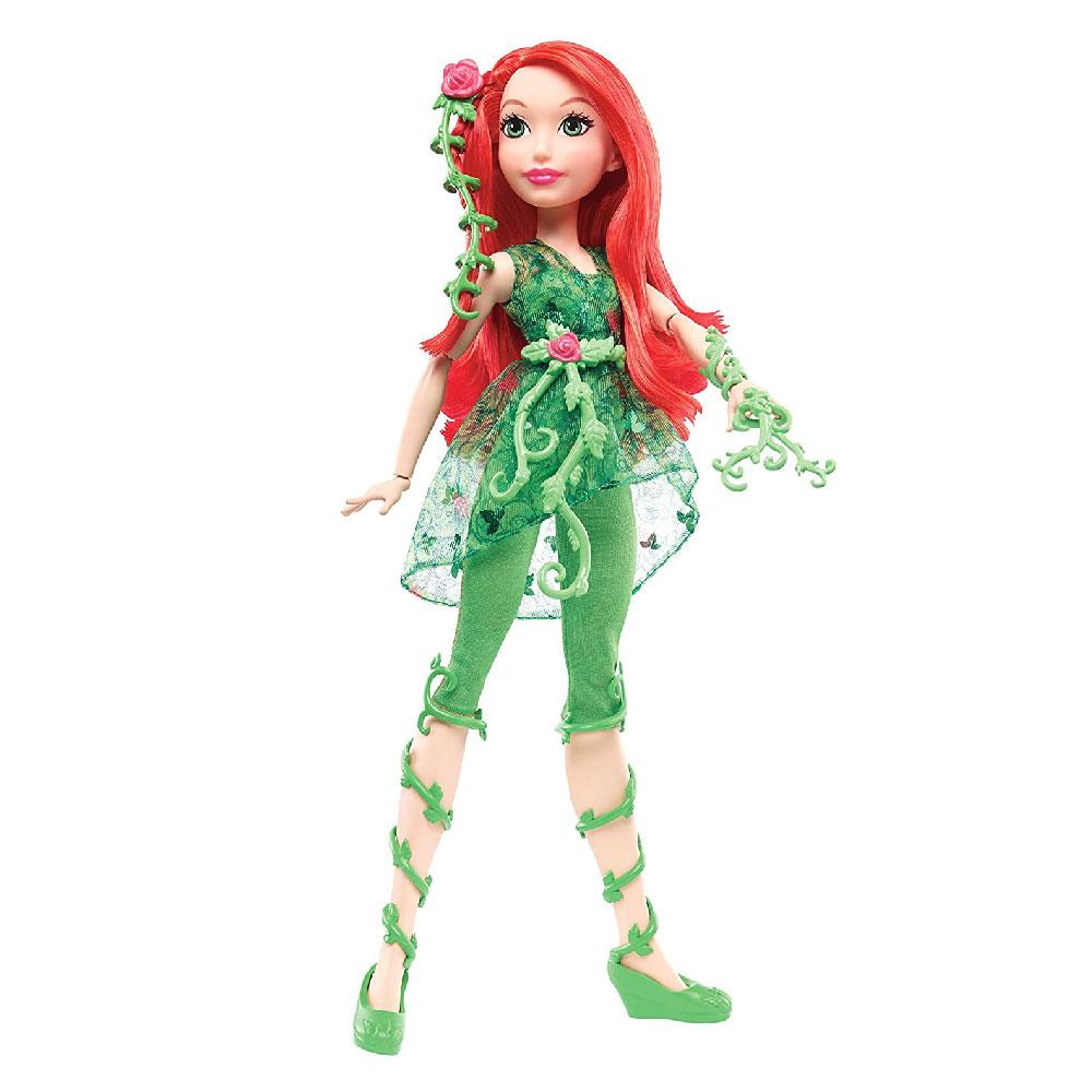Muñeca de Poison Ivy Hiedra Venenosa Super Hero Girls