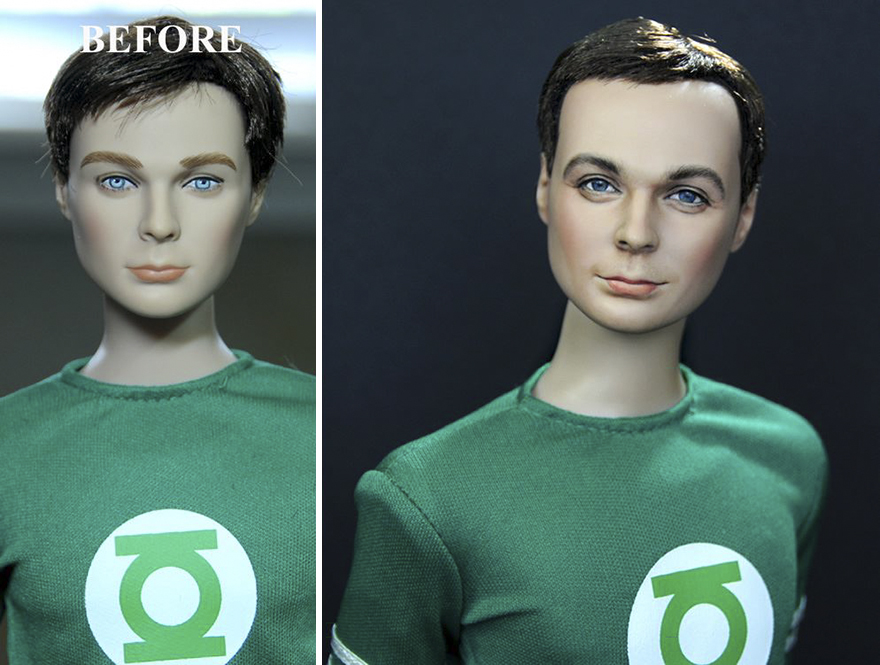Muñeca de Sheldon Cooper The Big Bang Theory