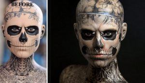 Muñeca de Skull Boy Zombie Boy