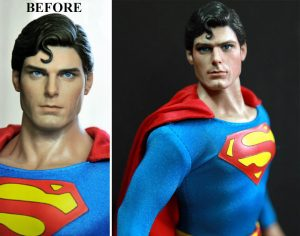 Muñeca de Superman Christopher Reever
