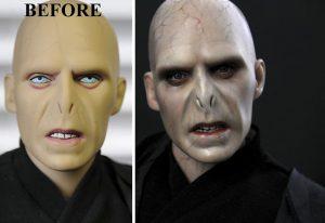 Muñeca de Voldemort Harry Potter