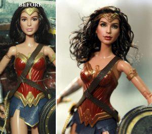 Muñeca de Wonder Woman la Mujer Maravilla Gal Gadot