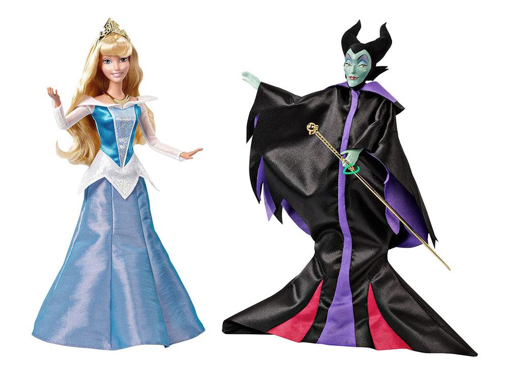 Muñecas de Aurora y Maleficent Signature Collection - La Bella Durmiente
