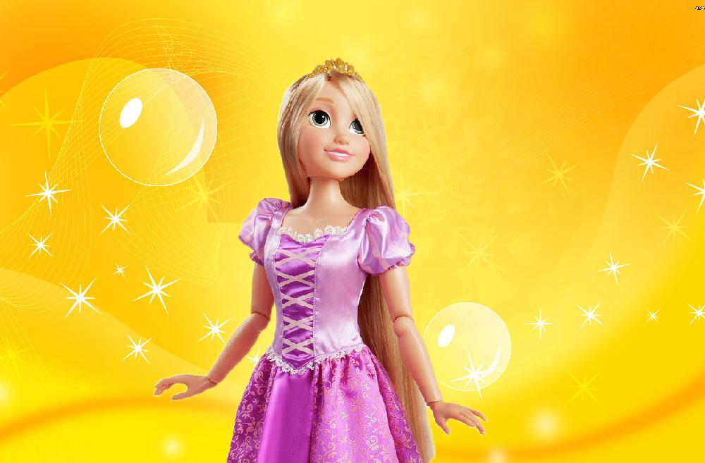 Muñecas de Rapunzel