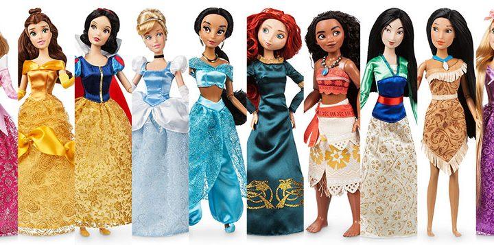 Muñecas de las Princesas Disney