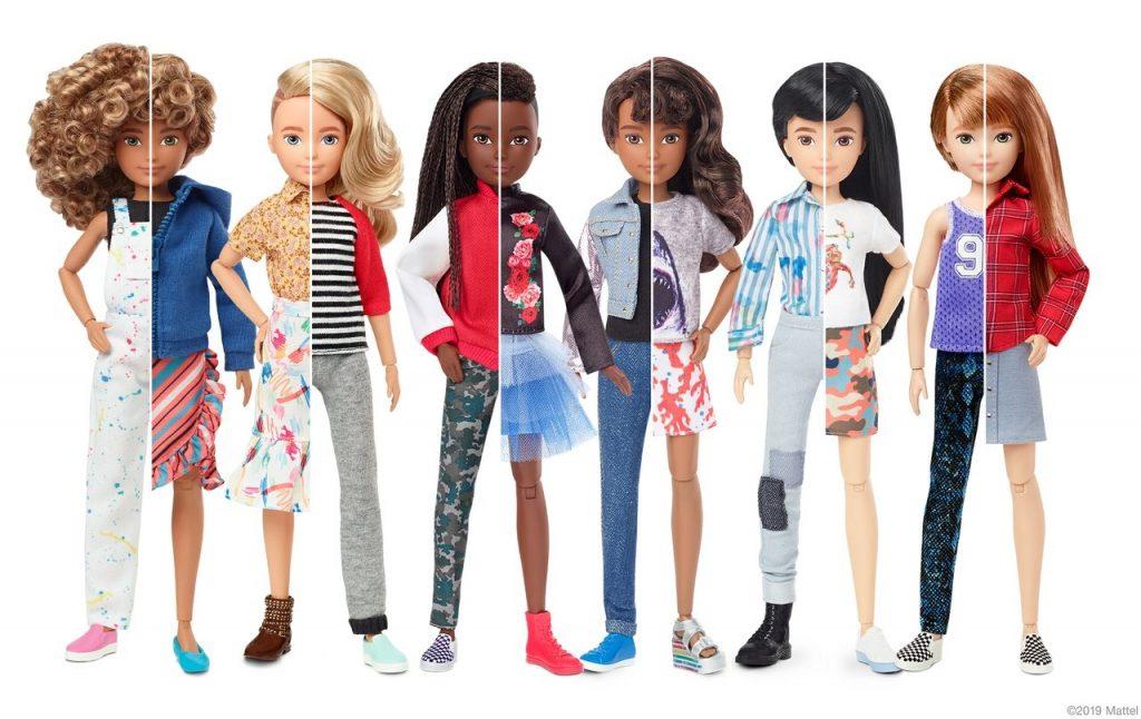 Mattel lanza línea de muñecas transgénero
