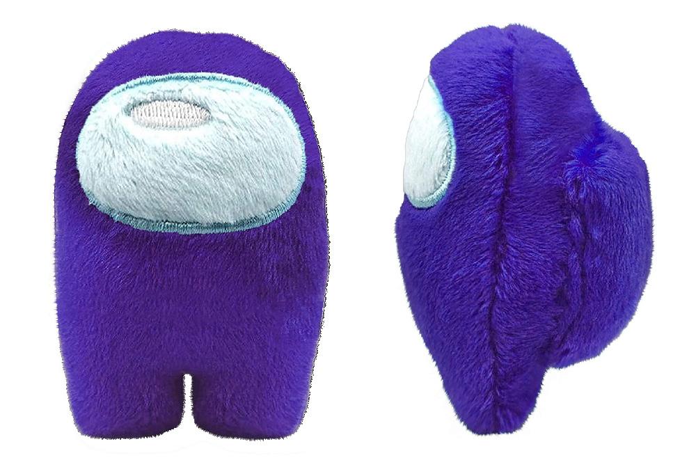 Muñeco de Among Us violeta / púrpura