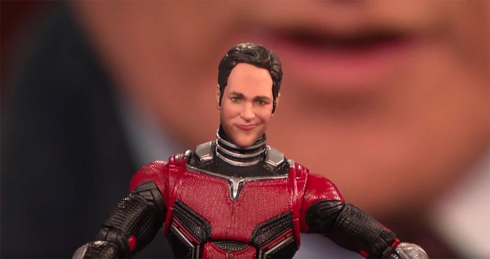 Muñeco Ant-Man de Marvel Legends