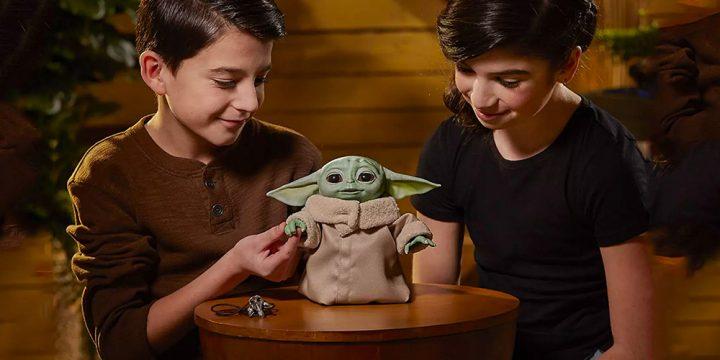 Muñeco de Baby Yoda Animatronic