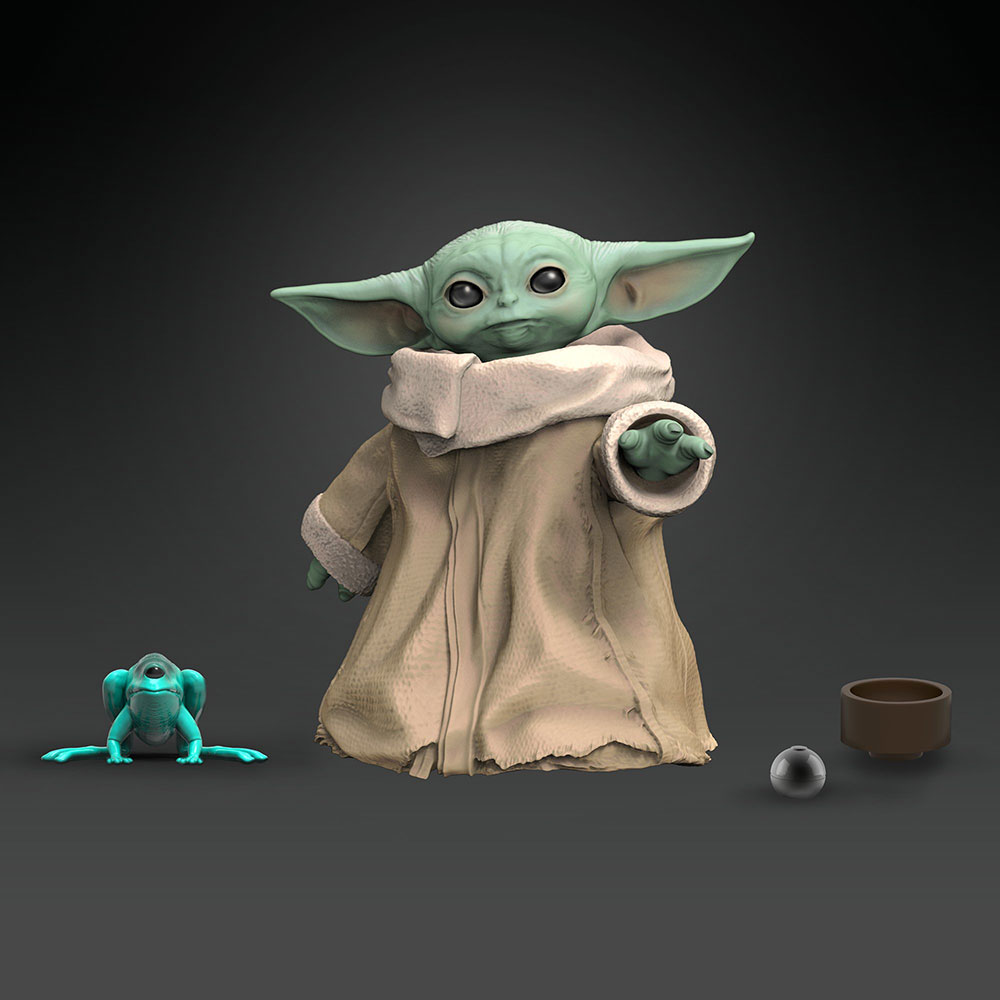 Muñeco Baby Yoda The Black Series