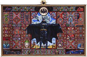 Muñeco de Batman por Robert Burden