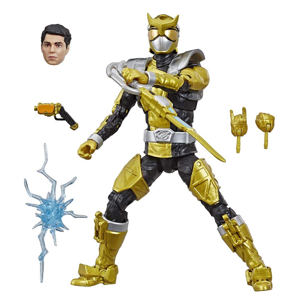 Muñeco Beast Morphers Gold Ranger