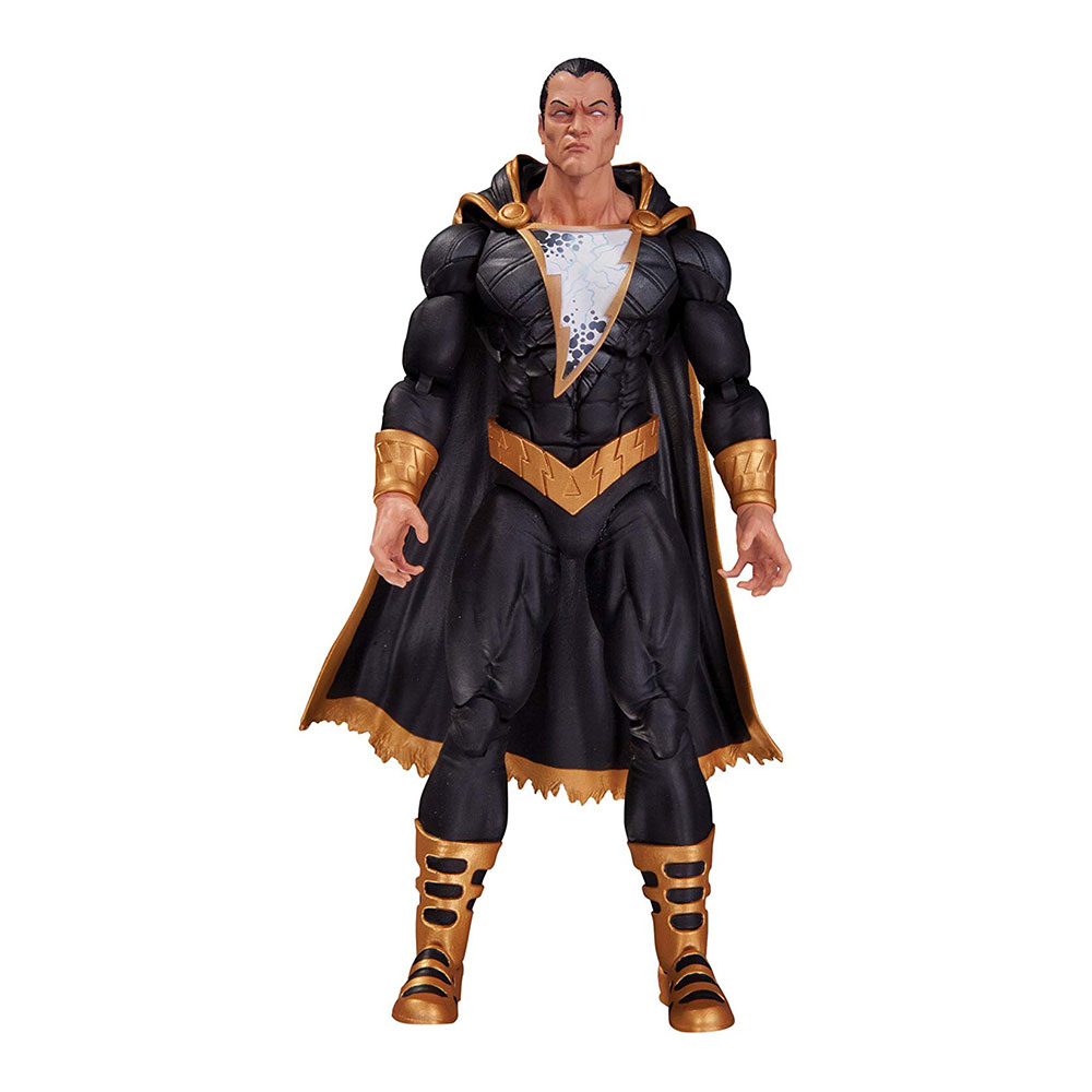 Muñeco de Black Adam DC Comics Icons