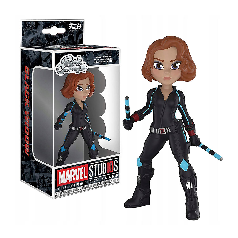 Muñeco de Black Widow Rock Candy